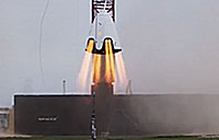 Dragon 2 Propulsive Hover Test