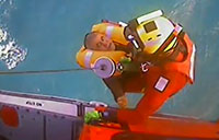 Coast Guard Rescues 2 in Gulf of Mexico