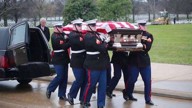 marine corps body bearers