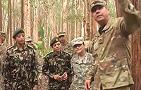 Nepalese Officers Visit 25th Infantry Division