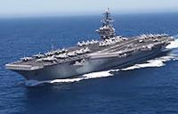 USS Roosevelt Sails Pacific & Fires Rolling Airframe Missile