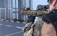 US Marines & French Commandos Marine: Small Arms Training