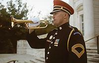 Taps at the Tomb of the Unknown Soldier