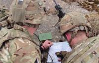 British & U.S. Forces Conduct Recon and Call for Fire Training