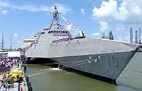 USS Gabrielle Giffords Commissioned