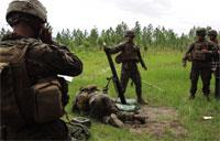 Marines Call for Fire