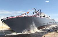 LCS 15 Christening & Launch