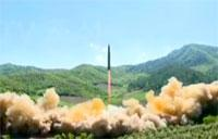 North Korea ICBM Launch (Long Version)