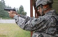 Senior Leaders Conduct M9 Range on JBLM