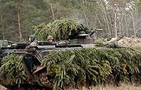 German Tanks in Action During Giant Training Drill: Leopard 2