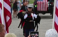 Celebration of Life for Military Service Dog Cena