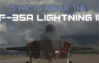 5 Facts About the F-35A Lightning II