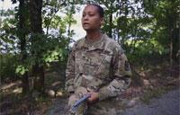 Female Soldier Earns Spot in Arkansas National Guard History