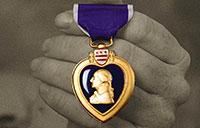 Defense Department Observes Purple Heart Day
