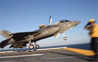F-35B Lightning II Conducts Fight Operations Aboard USS Wasp