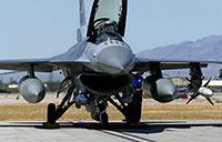 F-16 Fighting Falcons at Red Flag Aerial Combat Exercise