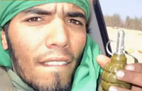 Video Diary Shows Libyan Soldier at War