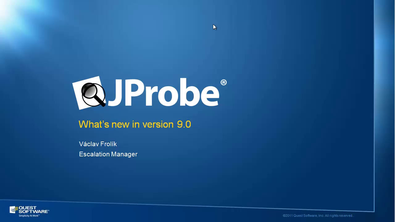 What's New in JProbe Version 9