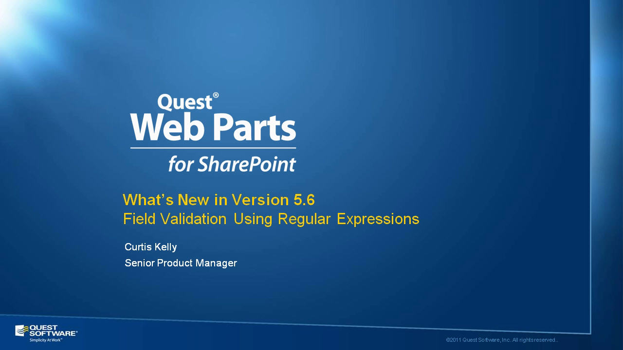 Regular Expression Field Validation with Quick Apps for SharePoint