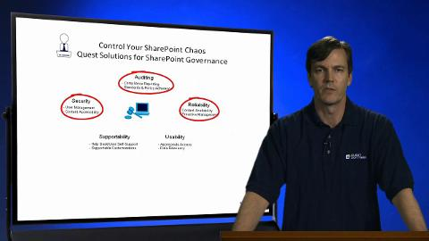Quest on the Board - Solutions for SharePoint Governance