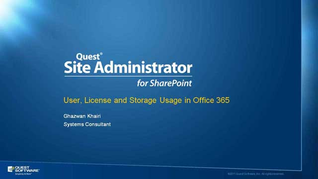 What's New in Site Administrator for SharePoint v 4.4