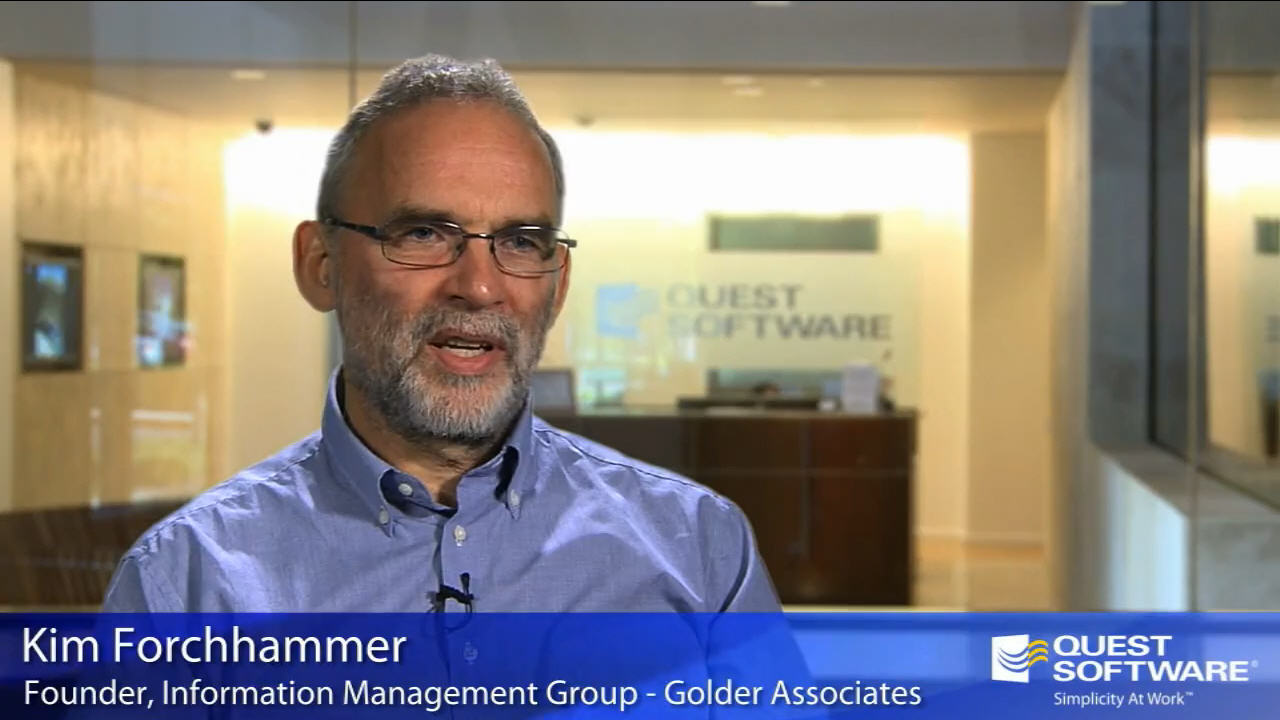 Video Case Study - Golder Associates