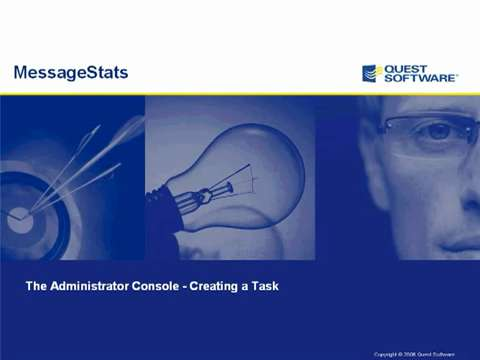 MessageStats - Creating a Task