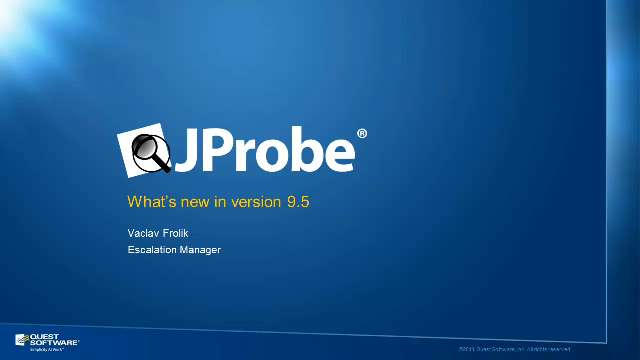 What's New in JProbe Version 9.5