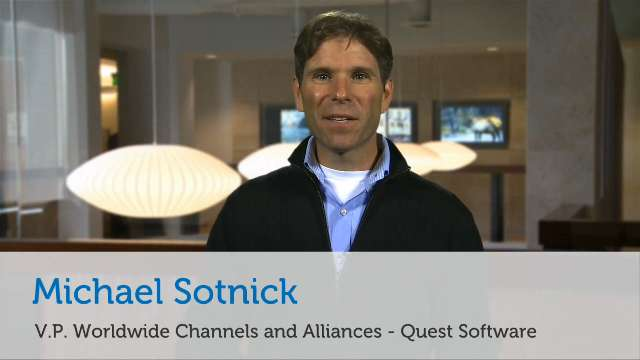 Quest Software's post-acquisition partner strategy