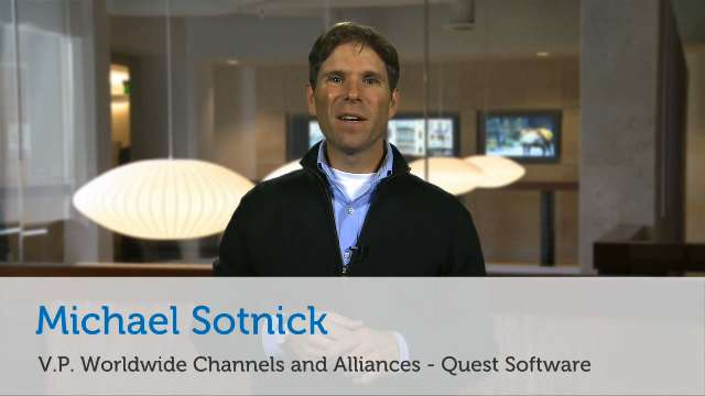 Quest Software's portfolio offers opportunities for Dell partners
