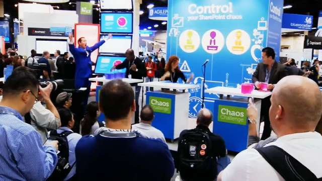 What's happening in the Dell booth at SharePoint Conference 2012?