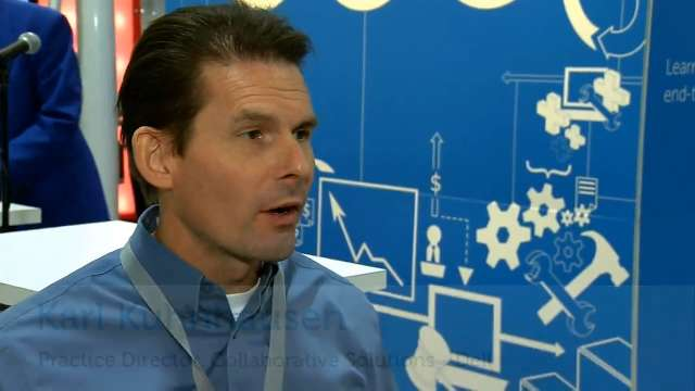 Karl Kuhnhausen talks about the SharePoint Conference 2012 keynote