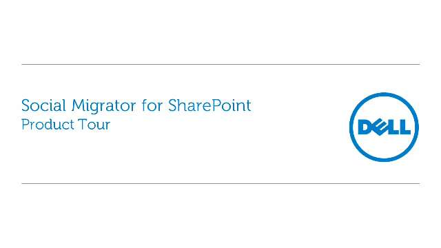 Simplify content migration with Social Migrator for SharePoint