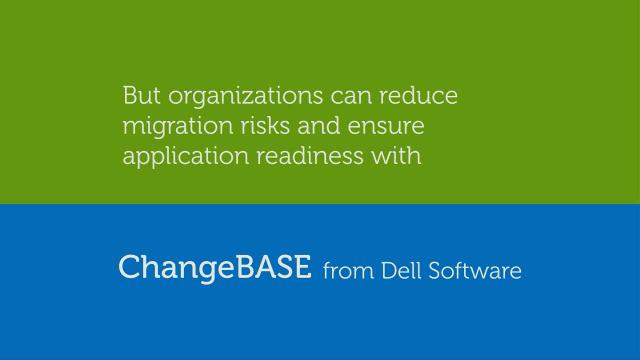 Ensure application readiness with ChangeBASE