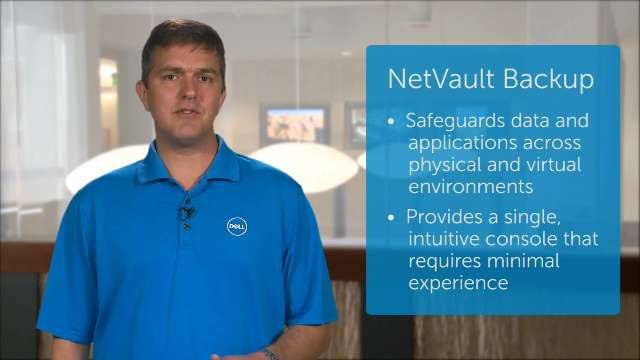 Simplify data protection with NetVault Backup 10