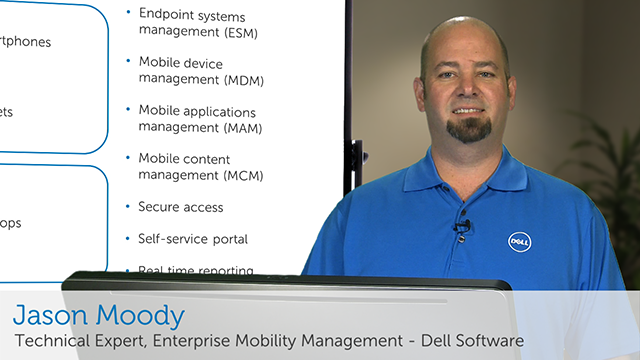 Unlock the four layers of security with Enterprise Mobility Management - On the board