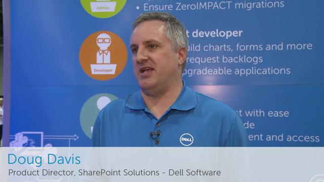 Dell Software highlights from SharePoint Conference 2014