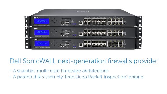 Achieve a deeper level of network security with Dell