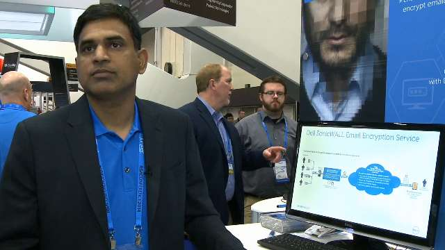 See how SonicWALL solutions improve email security at RSA 2014