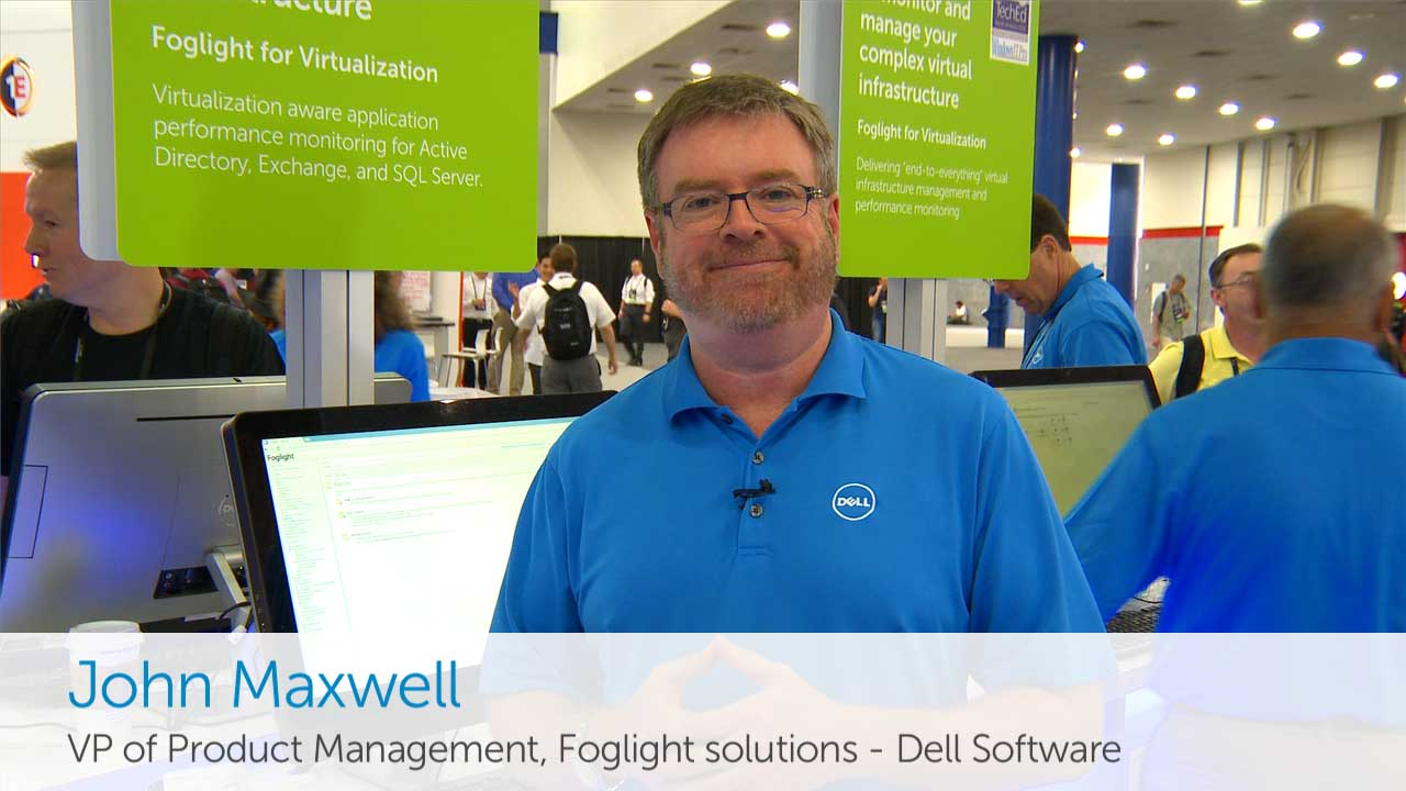 Learn about Foglight for Virtualization - TechEd 2014