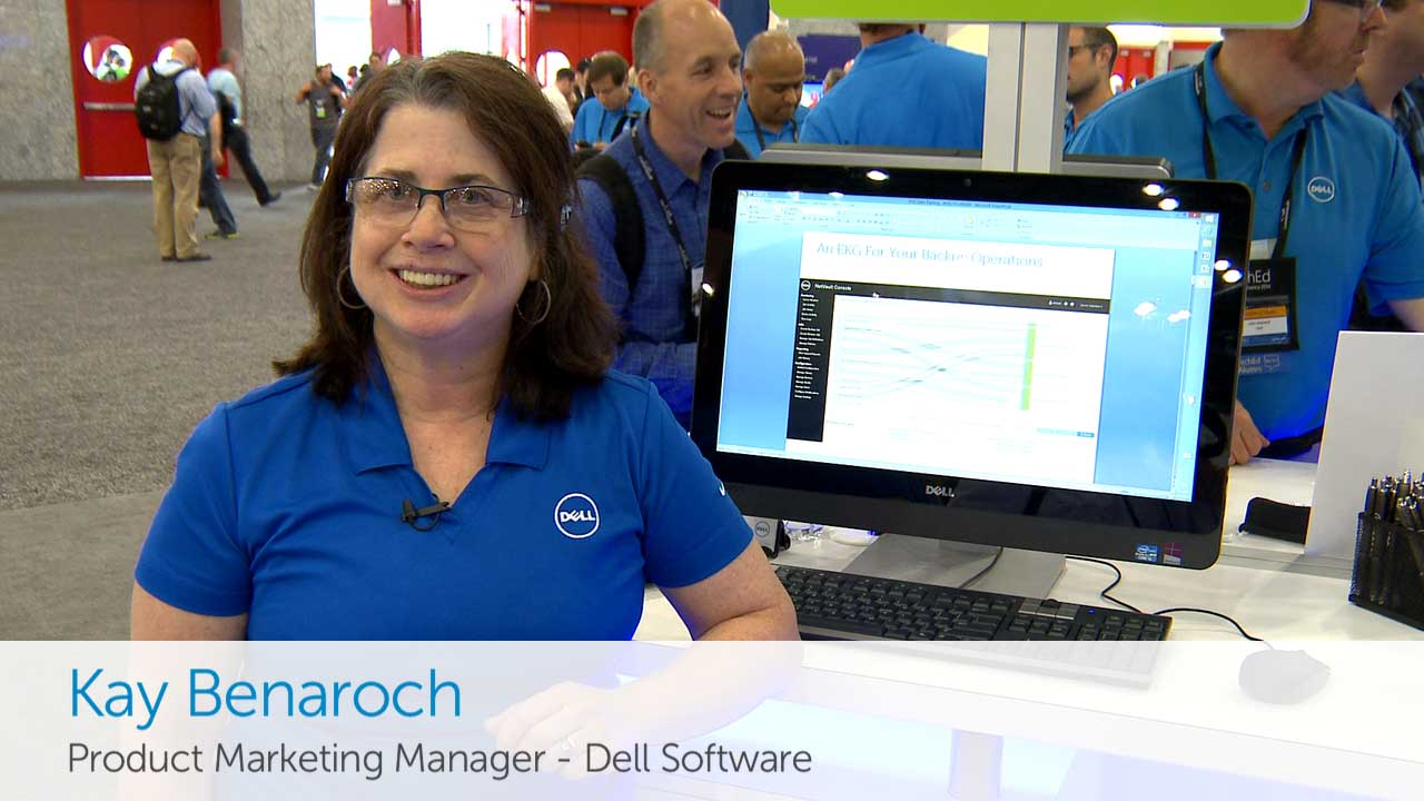 Dell Software data protection solutions - TechEd 2014