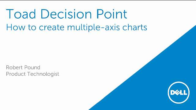 How to create multiple-axis charts in Toad Decision Point