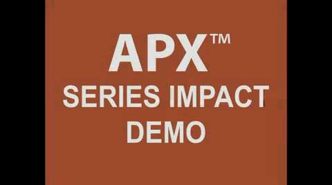 Motorola Impact Test of APX Portable Radios