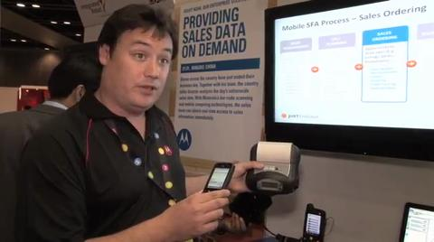 Andrew Liebenberg - With Motorola at APRCE