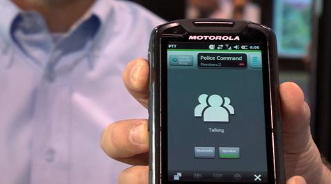 Quick Demo – LEX 700 Mission Critical Handheld Device Announcement at IWCE 2012