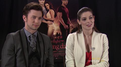 Breaking Dawn interview - Sitting down with Jackson and Ashley