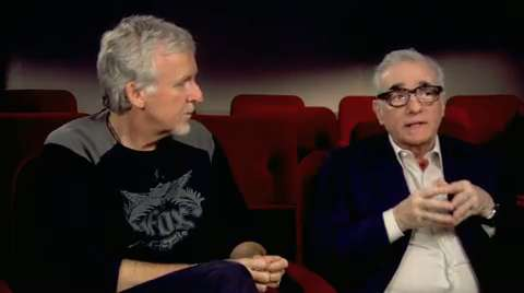 Hugo Q&A with Martin Scorsese and James Cameron