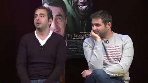 The Intouchables interview with directors Olivier Nakache, Eric Toledano