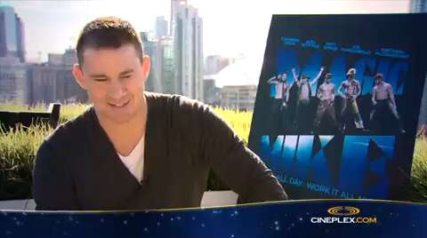 Channing Tatum et Joe Manganiello nous parlent de Magic Mike: entrevue en anglais