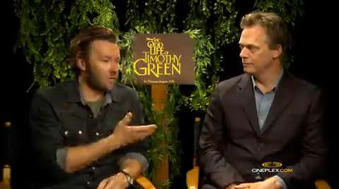 Joel Edgerton, Peter Hedges on 'Timothy Green'